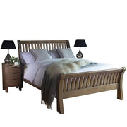 Winchester Rustic Wooden Bed and Bedsides