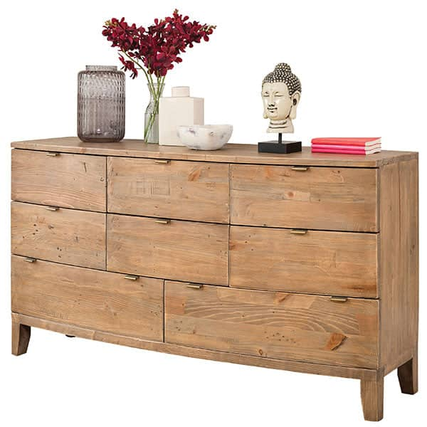 Winchester Rustic Wooden Large Chest of Drawers Cutout