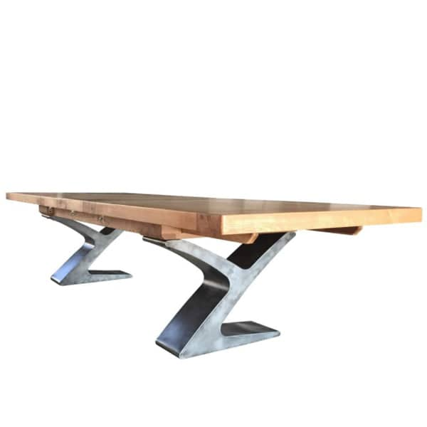 Winston Grand Industrial Oak Extendable Table by Modish Living