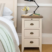 Worcester Reclaimed Wood Painted Bedside by the Bed