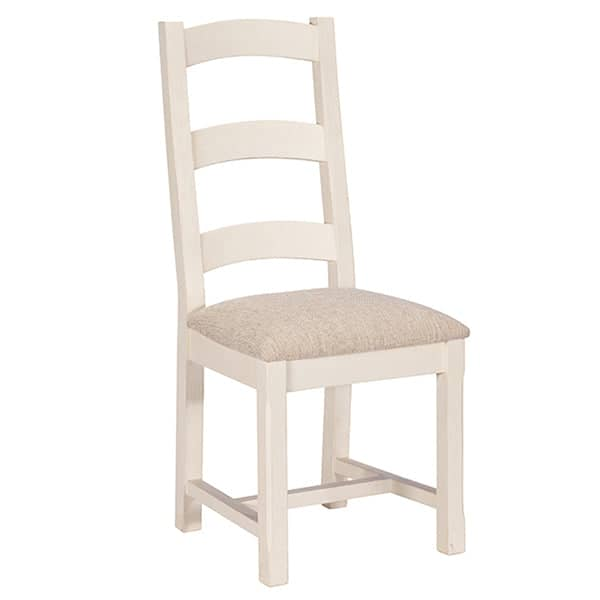 Worcester Reclaimed Wood Dining Chair with Padded Seat