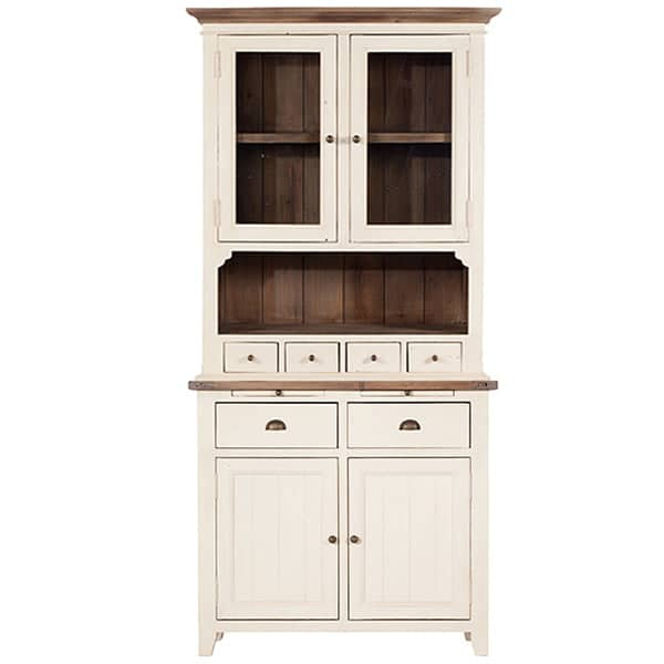 Worcester Reclaimed Wood Dresser Painted White