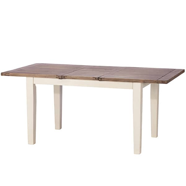 Worcester Reclaimed Wood Extended Dining Table