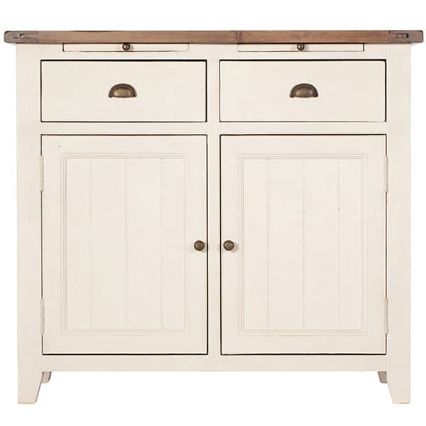 Worcester Reclaimed Wood White Painted Sideboard
