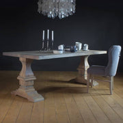 Hoxton Oak Farmhouse Dining Table - 20% OFF