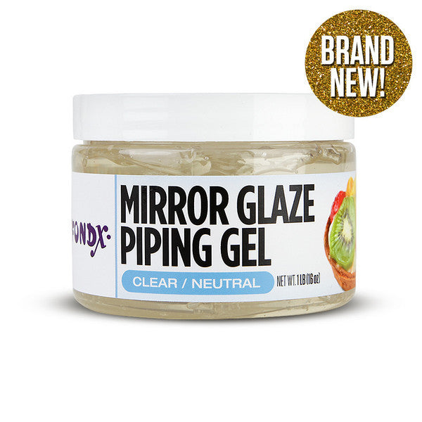 Piping Gel for cake decorating, great for piping writing, piping accents, & edible gluing.  Colors easily, smooth texture, & is very stable.  The best piping gel for cake decorators.