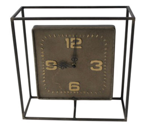 Industrial Mantle Clock