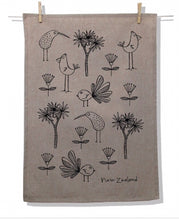 Load image into Gallery viewer, Natural Tea Towel (Variety of Prints)