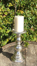 Load image into Gallery viewer, Aluminium Candlesticks - Silver