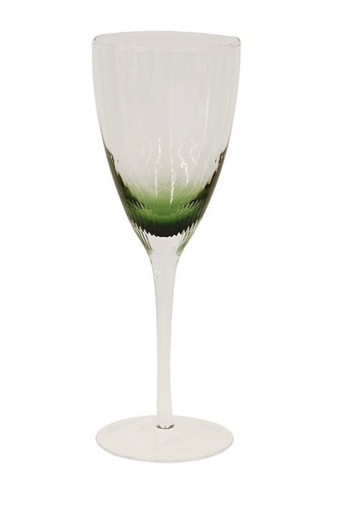 Ascot Green Wine Glass - Set of 4