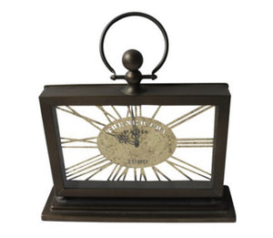 Industrial Mantle Clock 2