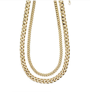 Water Necklace-Chains Set- Gold Plated - Pilgrim