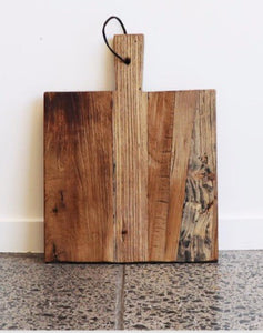 Rustic Square Board 30cm with Handle