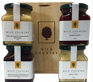Wild Country - NZ Tasting Gift Set - 4 Pack