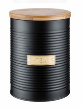 Load image into Gallery viewer, Typhoon Ebony Tea Canister