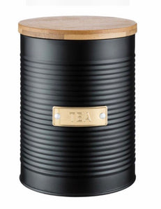 Typhoon Ebony Tea Canister
