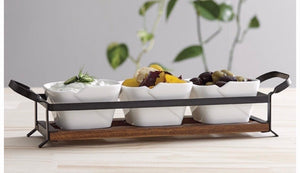 Serve & Share 4 Piece Serving Set by Ladelle