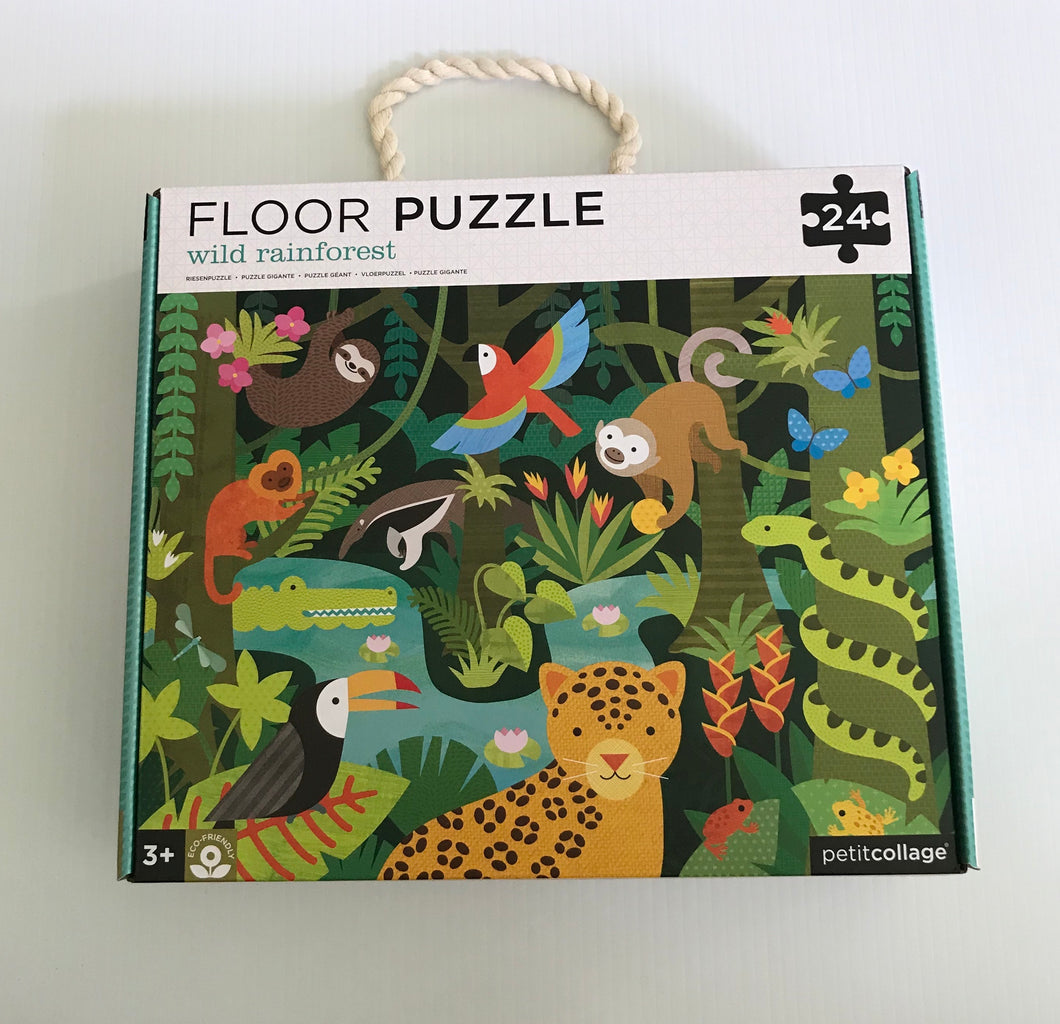 24 Piece Floor Puzzle - Wild Rainforest
