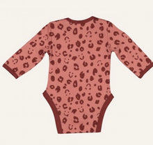 Load image into Gallery viewer, Little Flock of Horrors - Luna Merino Bodysuit Cheetah
