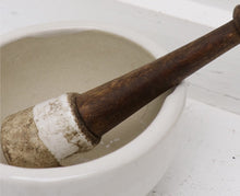 Load image into Gallery viewer, Original Ceramic Mortar & Pestle - small
