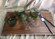 Load image into Gallery viewer, Ascot Green Tumbler Glass - Set of 4