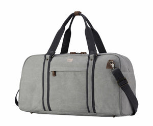 Men's Explorer Hold All - Ash Grey with Black Trim