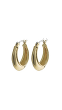 Load image into Gallery viewer, Sabri Hoops - Real Gold plated - Pilgrim