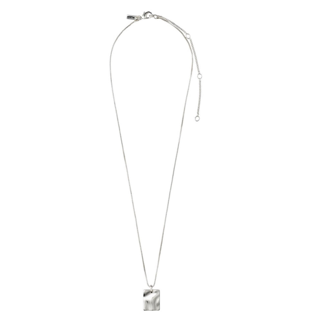 Water Necklace - Solid - Silver Plated - Pilgrim