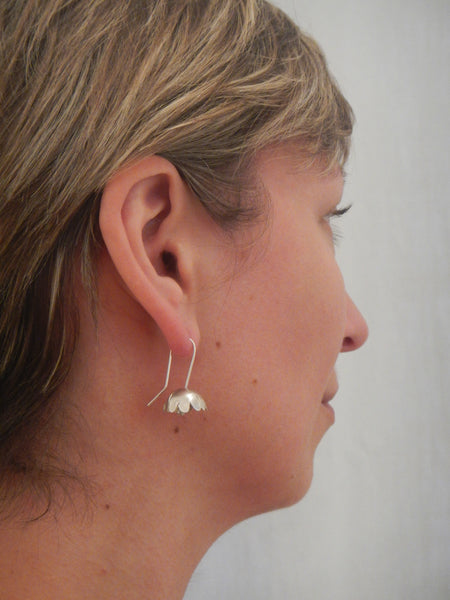 Buttercup Earrings - Silver