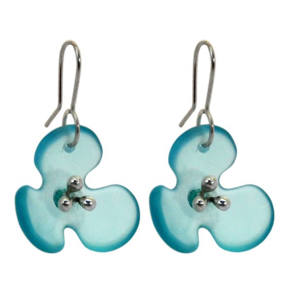 Bombay Petal Recycled Glass Earrings