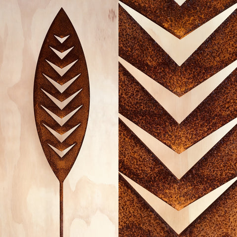 Arrow - Corten Spear Garden Art
