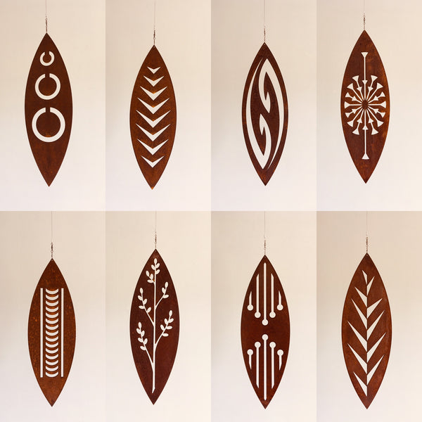 Tribal - Corten Spinning Art