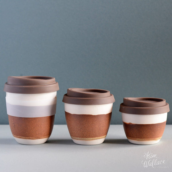 Reusable Coffee Cup - Rust