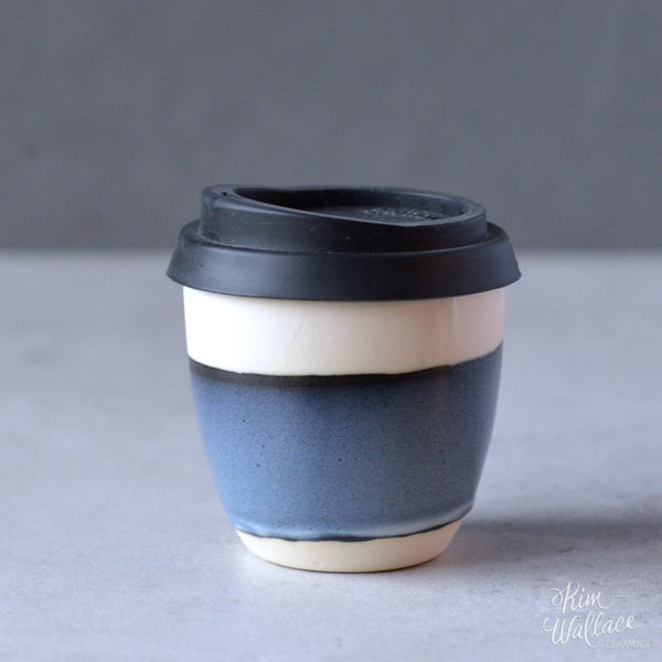Reusable Coffee Cup - Stormy Blue
