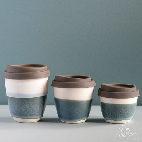 Reusable Coffee Cup - Bluegum
