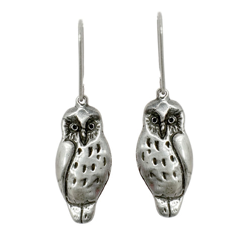 New Zealand Ruru (Morepork) Earrings
