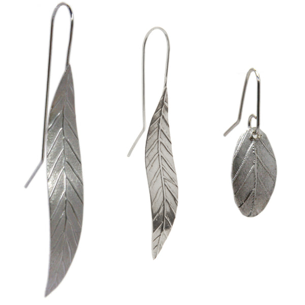 Garland Earrings Silver