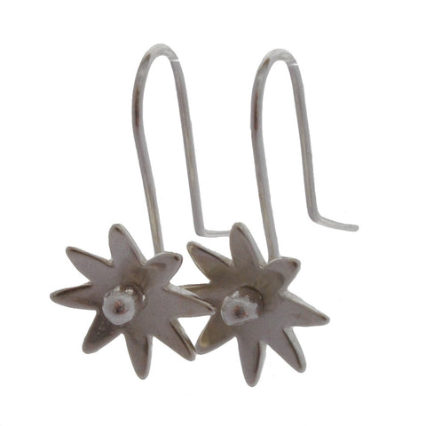 Daisy Sterling Silver Earrings