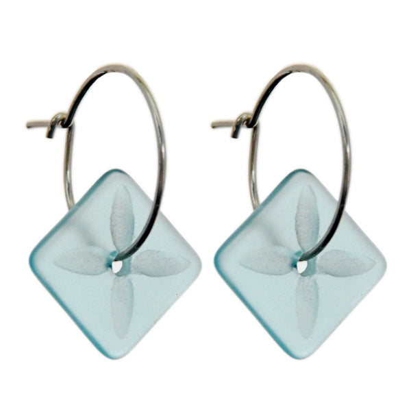 Square Tapa Earrings Bombay