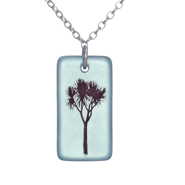 Glass Cabbage Tree Pendant