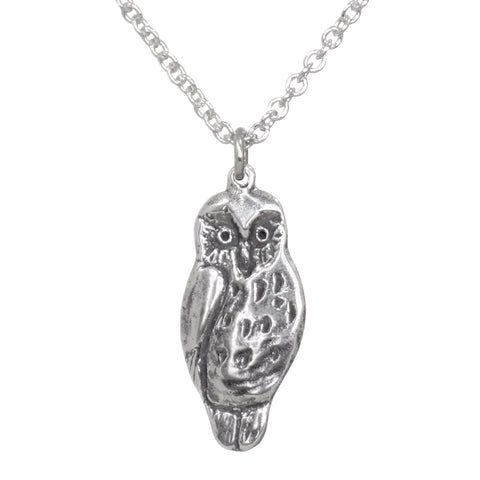 New Zealand Ruru (Morepork) Pendant