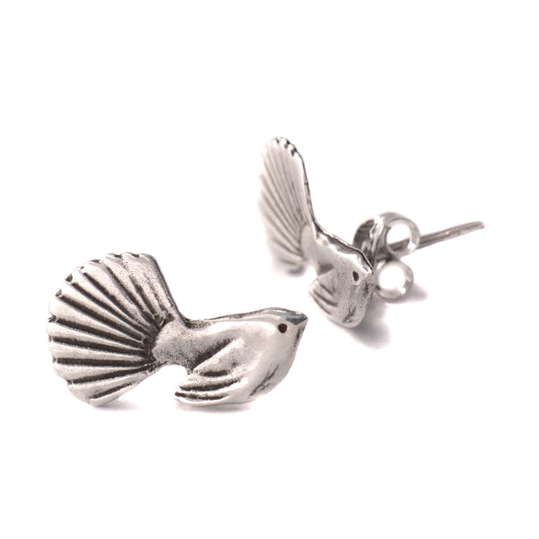 Fantail Silver Earring Collection