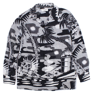 Saint Laurent Skullada Shirt SZ 38