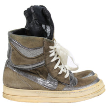 Load image into Gallery viewer, Rick Owens Dunk Womens Brown/Silver SZ 36