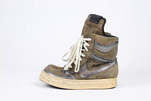 Rick Owens Dunk Womens Brown/Silver SZ 36