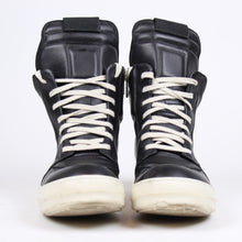 Load image into Gallery viewer, Rick Owens Geobasket White/Black SZ 41