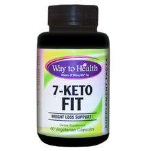 Load image into Gallery viewer, 7-Keto® is shown to be three times more effective in weight loss than diet and exercise alone. It speeds up metabolism, improves lean body mass and builds muscle. It increases the activity of the immune system and is used to enhance memory and slow ageing. Contains Green Tea and niacin-bound chromium from ChromeMate®