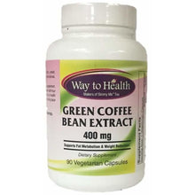 Load image into Gallery viewer, Green Coffee Bean Extract is standardized to 50% chlorogenic acid and supports healthy weight loss and management. Helps the body burn glucose and stored body fat. It reduces the absorption of carbohydrates, lowering blood sugar, insulin spikes. antioxidant support cardiovascular health and normal blood glucose levels