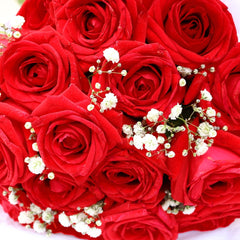 Love - 18 Best Quality Red Rose Bouquet