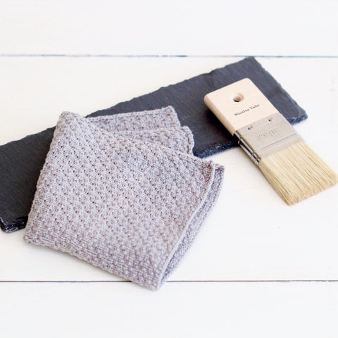 Dish Cloth Grey Luxury